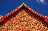 Decoration Of A Roof, Wat Si Saket, Vientiane, Laos