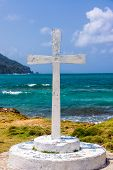 ������, ������: White Cross And Sea