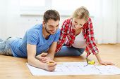stock photo of blueprints  - repair - JPG