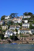picture of dartmouth  - Kingswear by the River Dart in Devon - JPG