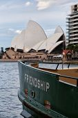 Sydney ferry 'Friendship' and the Opera House