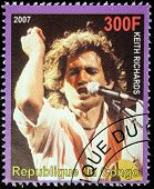 Keith Richards Stamp