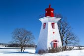 Prince Edward Island lighthouse in Victoria by the Sea, PEI.