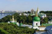 foto of kiev  - View from the hill on Kiev - JPG