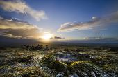 Sunrise at Caradon Hill, Cornwall, UK
