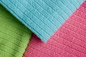 Three Colored Terry Towels