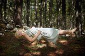 Levitating Woman