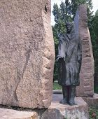 A Statue By Imre Varga Of Raoul Wallenberg