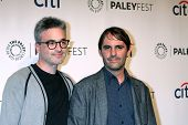 LOS ANGELES - MAR 19:  Alex Kurtzman, Roberto Orci at the PaleyFEST -