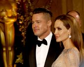 LOS ANGELES - MAR 2:  Brad Pitt, Angelina Jolie at the 86th Academy Awards at Dolby Theater, Hollywo