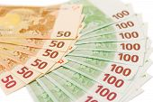 Euro Notes nominal In 50 And 100