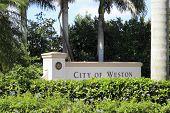 City Of Weston, Florida Sign