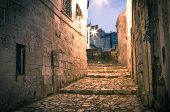 Sassi The Historic Center Of The City Matera In Italy