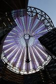 Potsdamer Platz, Roof Dome Of Sony Center