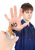 Man Refuse Cigarettes