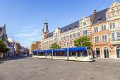 foto of old post office  - ERFURT GERMANY  - JPG