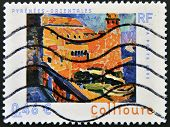 FRANCE - CIRCA 2002: A stamp printed in France shows Colliure circa 2002