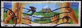 FRANCE - CIRCA 2005: A stamp printed in France showing a landscape