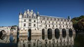 Chenonceau Castle In Loire Valley