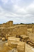 The Archaeological Helenistic and Roman site at Kato Paphos in Cyprus.