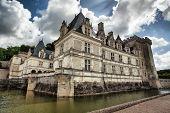 Chateau De Villandry In Loire Valley