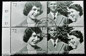 UNITED KINGDOM - CIRCA 2002: A stamp printed in United Kingdom shows Queen Elizabeth II