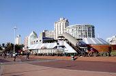 Beach Front Promenade In Durban South Africa