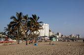 North Beach On Golden Mile In Durban