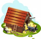 foto of gold mine  - mine for gold mining for mobile game - JPG