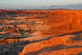Sunset At Little Painted Desert, Arizona