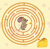 Cute Mouse's Maze Game