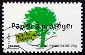 Postage Stamp France 2008 Environment Protection