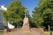 Monument To Russian Composer Mikhail Glinka, Saint-petersburg