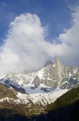Dru Peak, Aiguilles du Chamonix, Mont Blanc Massif, Alps, Chamonix, France
