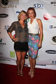 LOS ANGELES - SEP 6:  Zoe Bell, Kristanna Loken at the