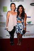 LOS ANGELES - SEP 6:  Nicole Bilderback, Tiffany Panhilason at the