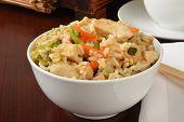 Bowl Of Chicken Teryaki