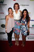 LOS ANGELES - SEP 6:  Nicole Bilderback, Kristanna Loken, Tiffany Panhilason at the