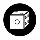 Dice Icon Vector.eps