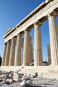 Columns Of Parthenon Temple