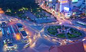 Asia Traffic, Roundabout, Ben Thanh Bus Stop
