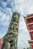 Pillar Carvings Dragon