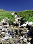 Peaceful Mountain Water