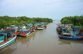 Group Fishing Boat, Vietnam Port
