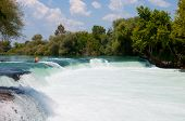Waterfall On The Manavgat River, Turkey