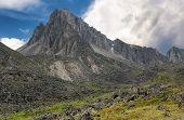 Landscape With Mountain Peak