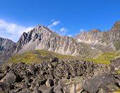 Mountain Landscape. Tunka Range. Eastern Sayan. Buryatia