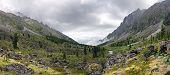 Panorama Of A Mountain Valley River Zun-handagay