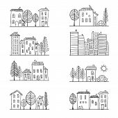 Houses Doodles