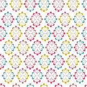 Seamless wallpaper with abstract ornament